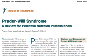 Review for Pediatric Nutrition Professionals